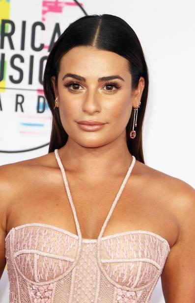 Lea Michele, une rober de princesse des temps modernes