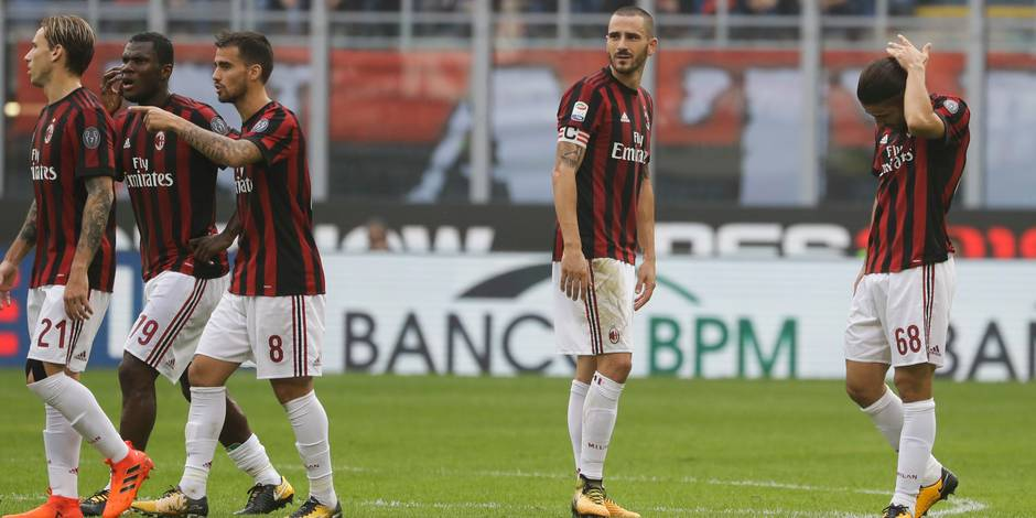 Le club sanctionné par l'UEFA — Milan