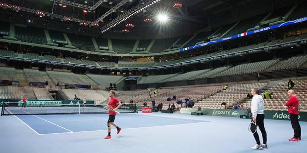 Finale de la Coupe Davis: Goffin est prêt à marcher sur Lille - La Libre