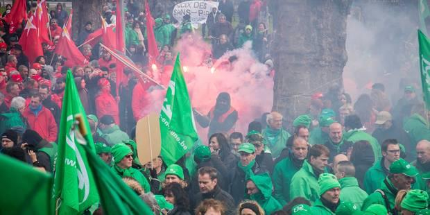 Les services publics wallons en grève le 30 novembre - La Libre