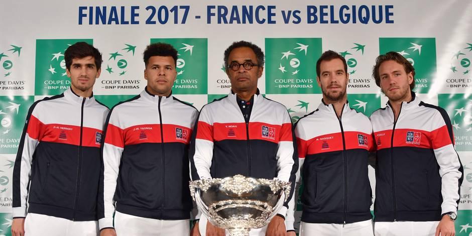 La Belgique devance la France en finale de la Coupe Davis
