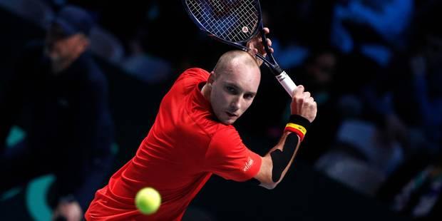Finale de Coupe Davis: Darcis perd le premier set face à Tsonga (DIRECT)
