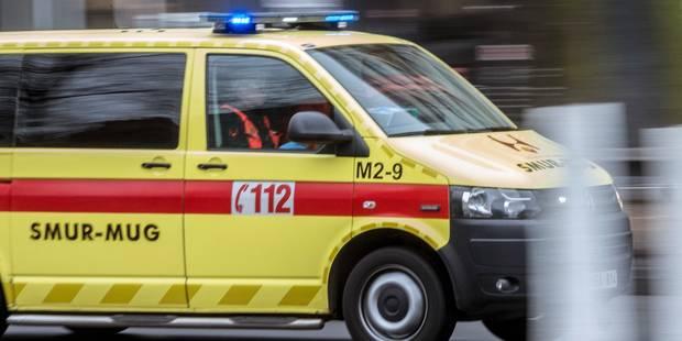 France: trois jeunes brûlés dans l'incendie d'un bus sur une liaison avec la Belgique - La Libre