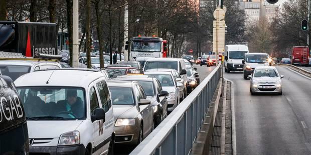 Le tunnel Stéphanie à Bruxelles rouvert à la circulation - La Libre