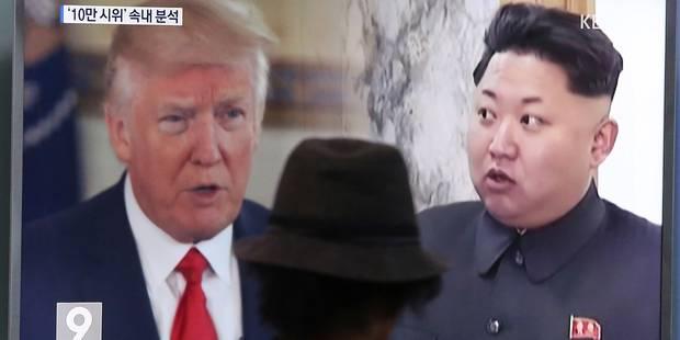 """Washington menace de """"détruire"""" le régime nord-coréen """"en cas de guerre"""" - La Libre"""