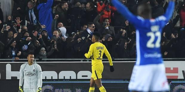 Le PSG de Neymar perd pour la première fois de la saison, à Strasbourg (2-1) - La Libre