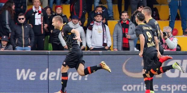 Un club italien prend le premier point de son histoire grâce à un but de son gardien (VIDEO) - La Libre