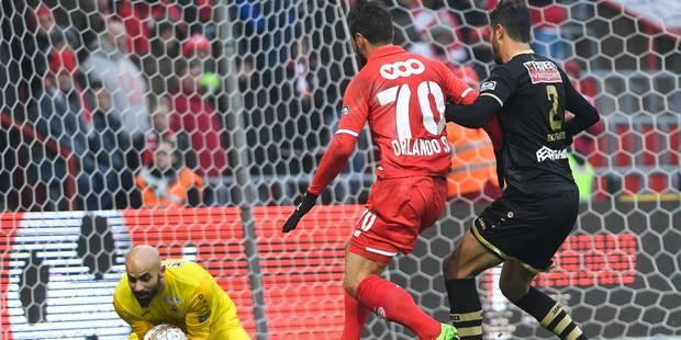 Standard-Antwerp: Orlando Sa ouvre la marque juste avant le repos, 1-0 (DIRECT) - La Libre