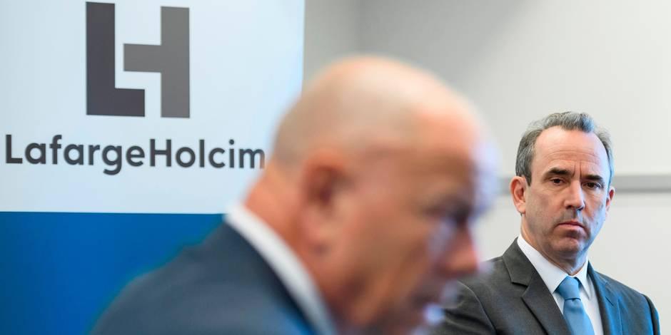 Affaire LafargeHolcim : trois cadres placés en garde