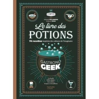 Gastronogeek compile de nombreux cocktails inspirés de films et de séries. Bartending et science-fiction se marient à merveille. Santé !          Amazon. 24,90 euros.