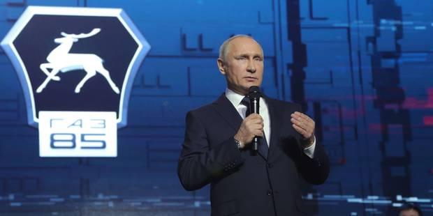 Poutine officialise sa candidature aux prochaines élections et assure que la Russie ne boycottera pas les JO-2018 - La L...