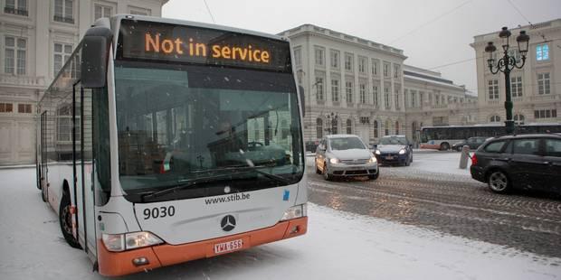 Neige: les tunnels bruxellois sont rouverts - La Libre
