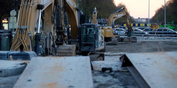 Bruxelles: On roule mieux à Reyers depuis la destruction du viaduc - La Libre