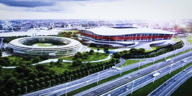 Stade national: l'administration flamande rend un avis négatif pour Ghelamco - La Libre