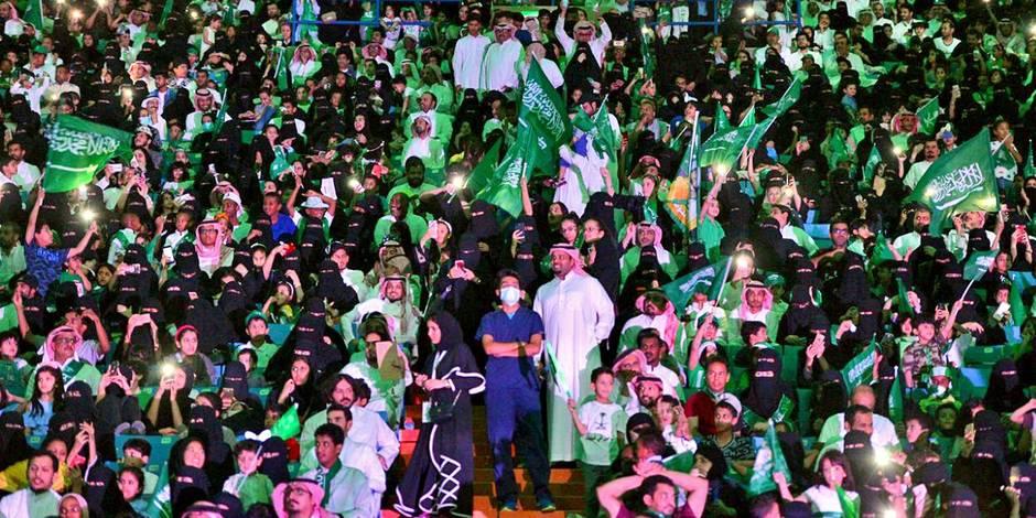 Foot : des Saoudiennes autorisées dans les stades pour la première fois