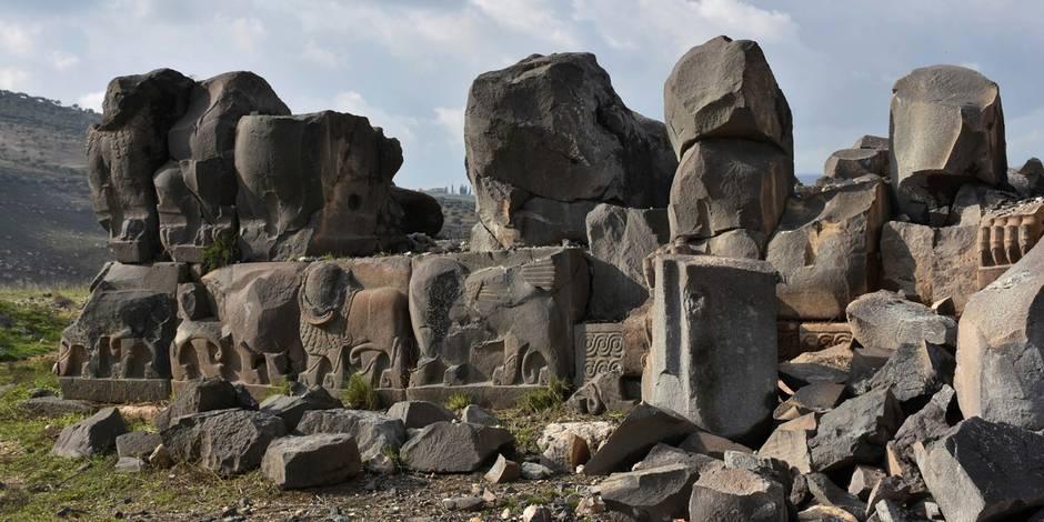 Un temple de 3000 ans endommagé par les raids aériens turcs — Syrie