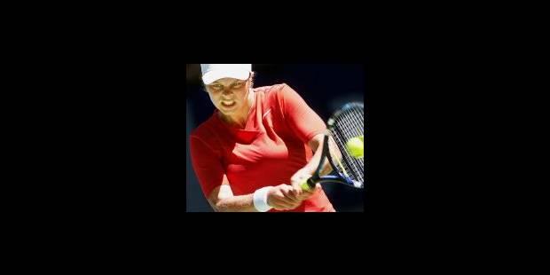 Henin face à Seles; Clijsters contre Davenport - La Libre