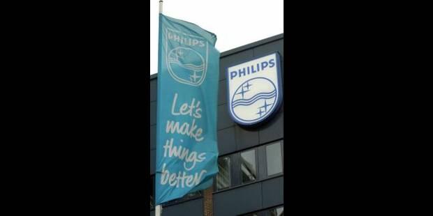 Philips: moins 6 à 7.000 postes - La Libre