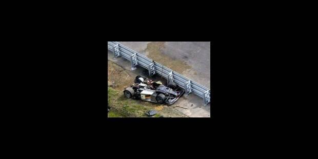 Un objet pointu à l'origine de l'accident d'Alboreto - La Libre