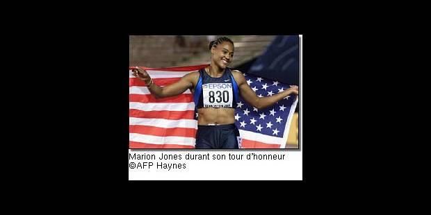 Marion Jones championne au 200m - La Libre