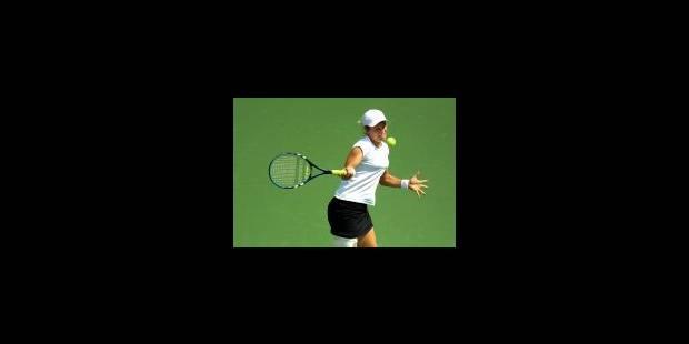 Clijsters expéditive au second tour - La Libre