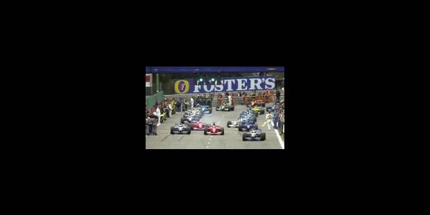 Schumacher fête dignement ses dix ans de F1