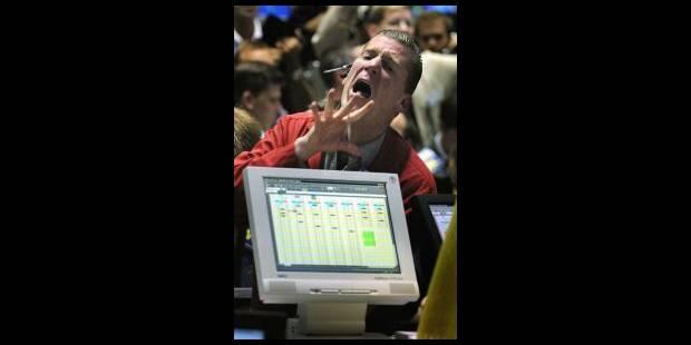 Wall Street va au tapis mais se relève - La Libre