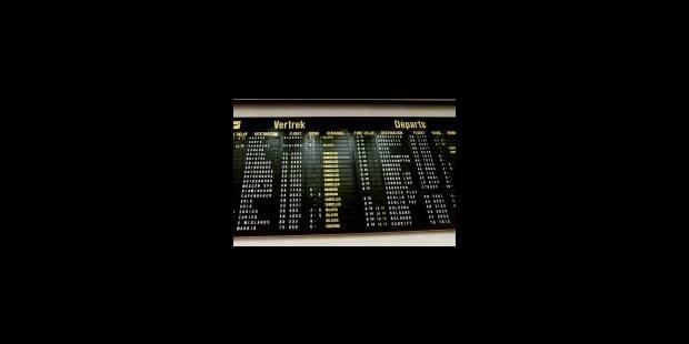40% des vols annulés - La Libre