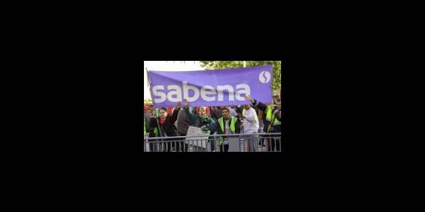 La Sabena manifeste à Bruxelles - La Libre