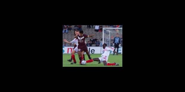 Le Standard battu à Bordeaux