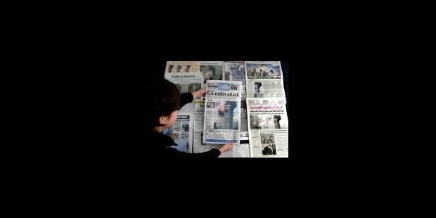 Peur, gouvernement et médias - La Libre