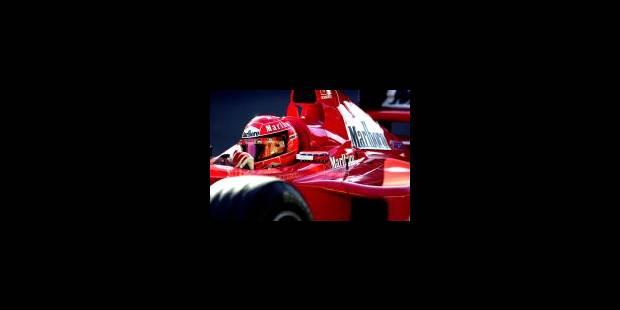 2001, l'odyssée de Michael Schumacher et Ferrari - La Libre