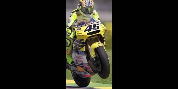 Rossi, la météore jaune de la moto