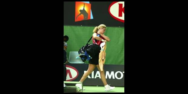 Kim Clijsters n'ira pas en finale