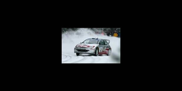 Peugeot et Gronholm dans le rythme - La Libre