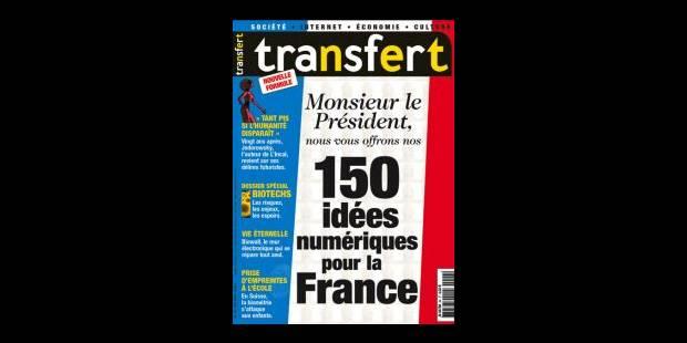 Le magazine Transfert bientôt déconnecté - La Libre