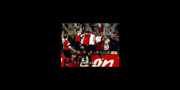 Feyenoord fait bouillir le Kuip - La Libre