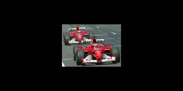 Barrichello, enfin !