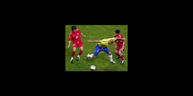 Ronaldo propulse le Brésil en finale - La Libre