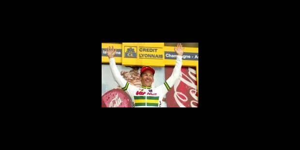 Mc Ewen rafle l'étape, Zabel le maillot jaune - La Libre