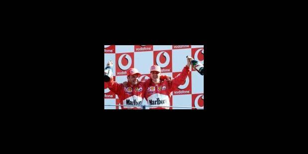 Le 7e doublé Ferrari de la saison à Monza - La Libre