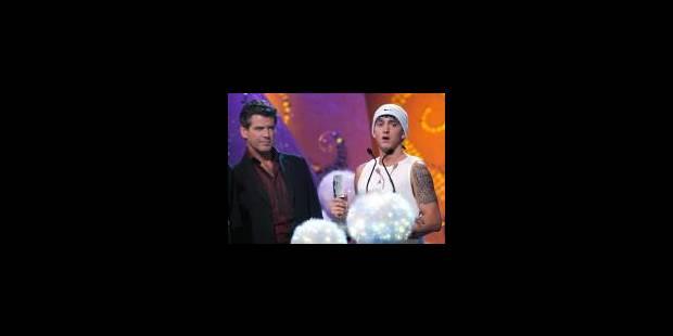 Eminem rafle la mise aux MTV Europe Awards - La Libre