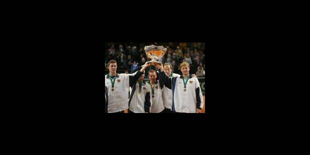 Le jour de gloire du tennis russe - La Libre