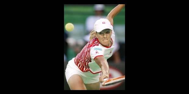 Justine Henin en demi-finale - La Libre