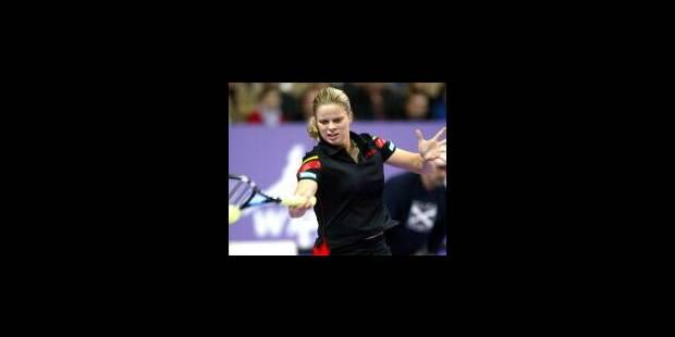 Kim Clijsters a réussi ses débuts - La Libre
