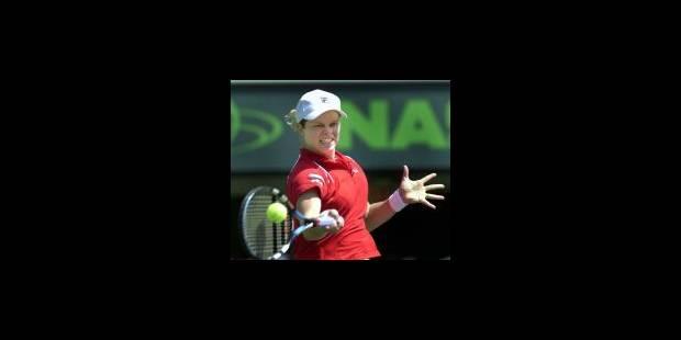 Kim Clijsters sera numéro 2 mondiale lundi