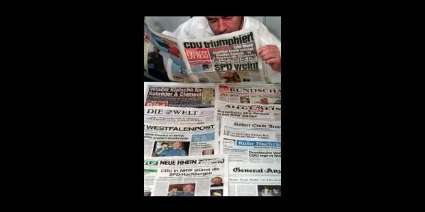La presse sous influence politique - La Libre