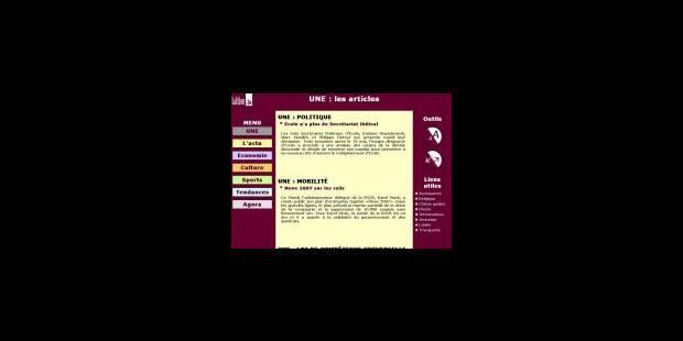 Les sites d'information se font plus «net» - La Libre