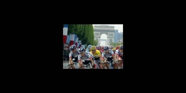 Armstrong, dans la foulée d'Anquetil, Hinault, Merckx et Indurain - La Libre