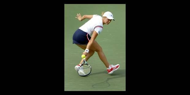 Kim Clijsters en démonstration